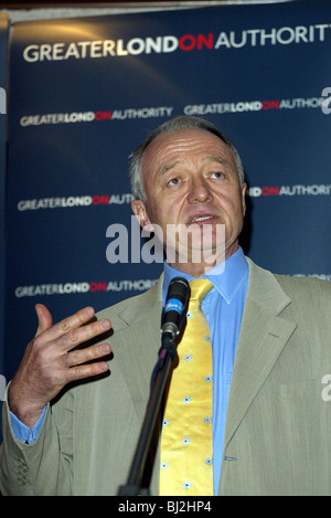 KEN LIVINGSTONE MAYOR OF LONDON 24 September 2003 BRIGHTON ENGLAND - Stock Photo