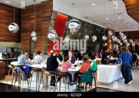 Food Hall, Westfield Shopping Centre, Shepherd's Bush, London Borough of Hammersmith and Fulham, Greater London, - Stock Photo
