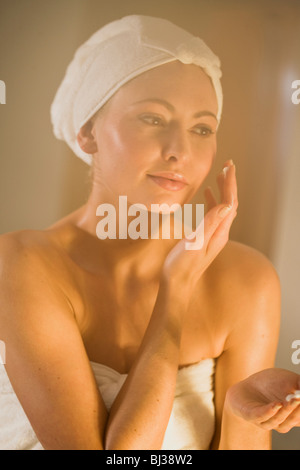a day in a wellness spa - Stock Photo