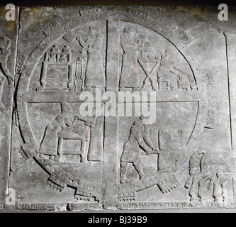 Assyrian Wall Relief Image Of The Room