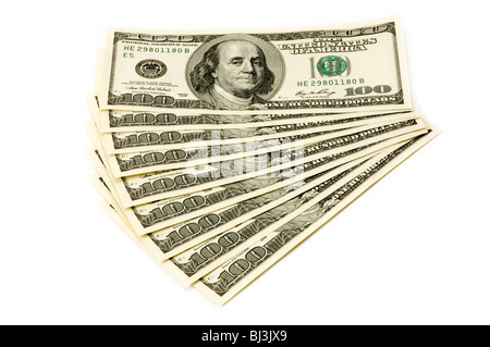 fan of money - Stock Photo