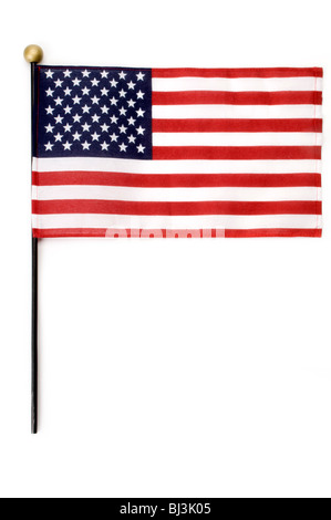 small american flag - Stock Photo