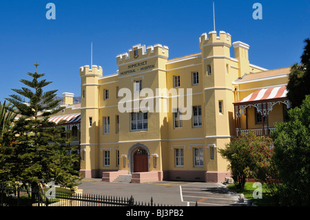 Somerset Hospital near the V & A Waterfront, Cape Town, Western Cape, South Africa, Africa - Stock Photo
