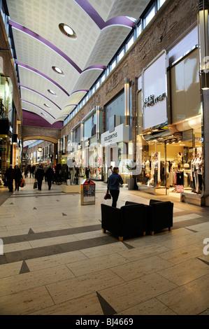 Touchwood Shopping Centre Solihull Birmingham England UK - Stock Photo
