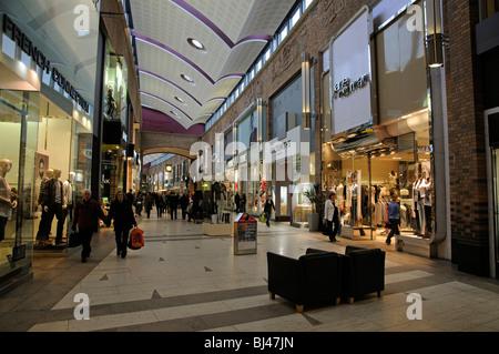 Touchwood Shopping Centre in Solihull near Birmingham England UK - Stock Photo