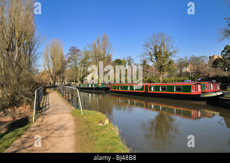 River Wey navigation,Guildford - Stock Photo