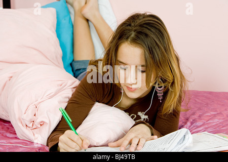 Good listen music while doing homework