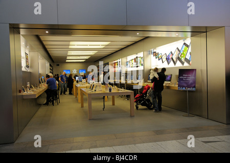 Apple store in the Touchwood Shopping Centre Solihull Birmingham UK - Stock Photo