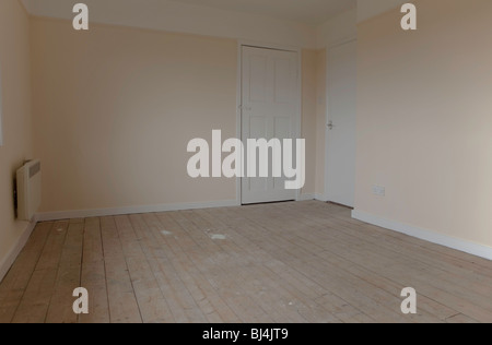 empty room ready for carpet - Stock Photo