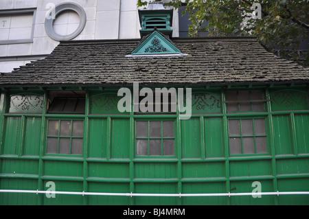 Cabmans shelter,  London England UK - Stock Photo