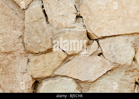 stone wall background shot with a macro lens - Stock Photo