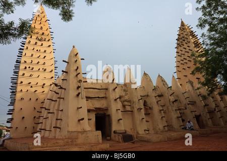 Africa Bobo-Dioulasso Burkina Faso Kibidwe Mosque - Stock Photo