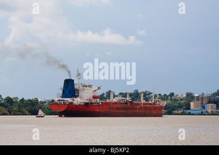 Africa Boat Calabar Cross River State Nigeria - Stock Photo