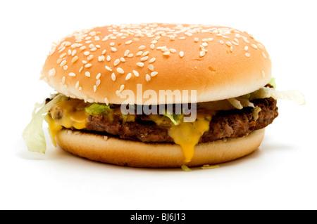 Real McDonald's McRoyal Deluxe - Stock Photo