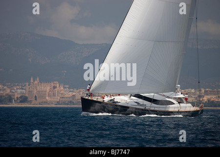 Ganesha at The Super Yacht Cup, Palma de Mallorca, Spain - Stock Photo