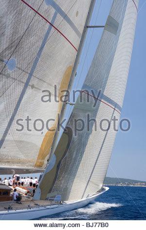 Range at The Super Yacht Cup, Palma de Mallorca, Spain - Stock Photo
