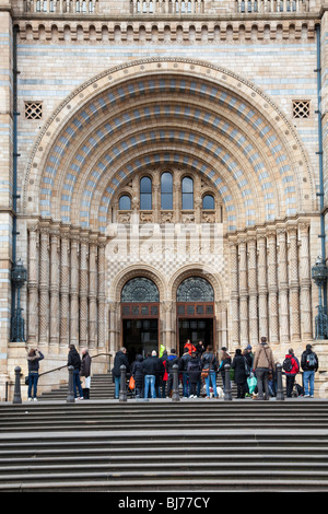 Natural History Museum London UK. Cromwell Road entrance. - Stock Photo