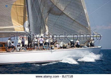 Ranger at the The Super Yacht Cup, Palma de Mallorca, Spain - Stock Photo