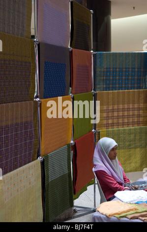 Crafts on sale, Shopping centre, Bandar Seri Begawan, Brunei Darussalam - Stock Photo