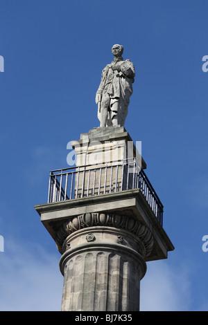 Grey's Monument Newcastle upon Tyne - Stock Photo
