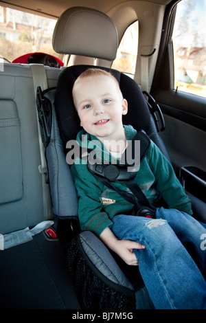 2 Year Old Boy In A Child Seat New Jersey USA