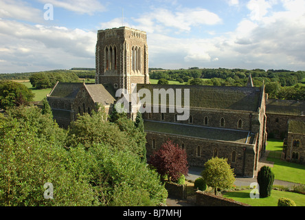 Mount St. Bernard Abbey, Leicestershire england UK modern English ...