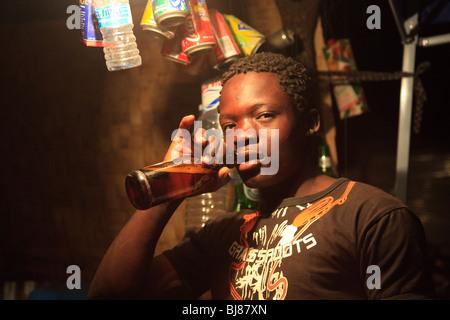 Africa Angola Benguela Lubango Quilengues Men - Stock Photo