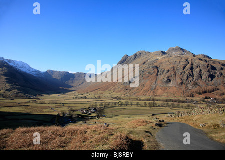 Pike O Stickle Old Dungeon Ghyll 'Langdale Valley' Cumbria England UK United Kingdom EU European Union Europe