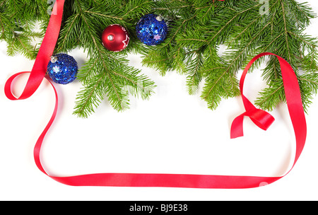 Christmas decoration frame with copy space for your text - Stock Photo