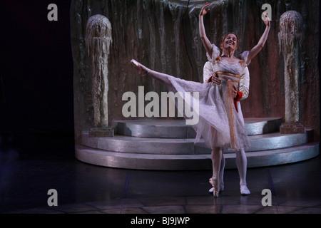 ballet dancer dancers stage shoe cinderella dress girl tutu ballett stage performance entertainment active art artist - Stock Photo