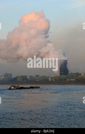 Coking plant, Duisburg, Germany - Stock Photo