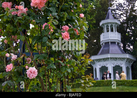 France paris jardin bagatelle garden dwarf stock photo for Bagatelle jardin