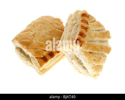Reduced Fat Sausage Rolls - Stock Photo
