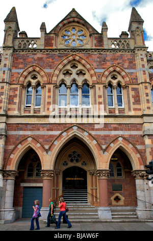 Royal Albert Memorial Museum Exeter City Devon England - Stock Photo