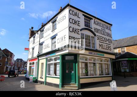 banbury town centre high street oxfordshire england uk gb - Stock Photo
