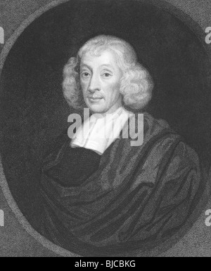 John Ray (1627-1705) on engraving from the 1800s.English naturalist, referred as the father of English natural history.