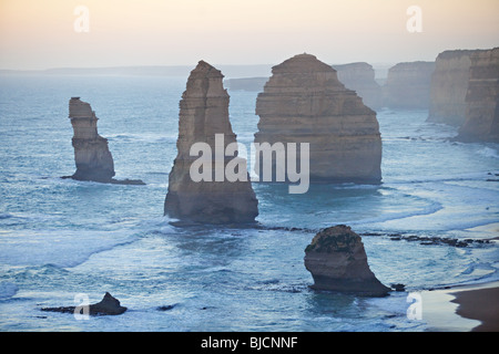 Twelve Apostles, Port Campbell National Park, Victoria, Australia - Stock Photo