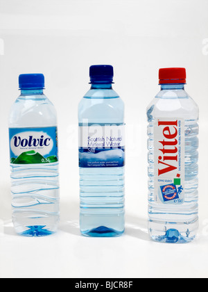 Bottled Mineral Water - Stock Photo