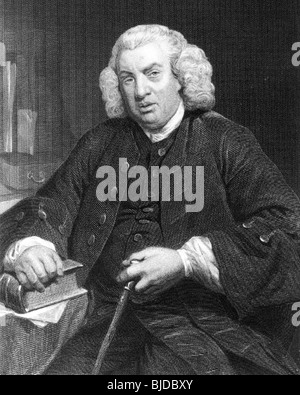DR SAMUEL JOHNSON - English writer, critic and lexicographer (1709-84) - Stock Photo