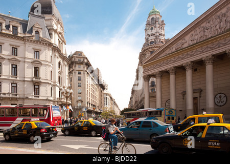 Plaza de Mayo, downtown, Capital Federal, Buenos Aires, Argentina, South America - Stock Photo