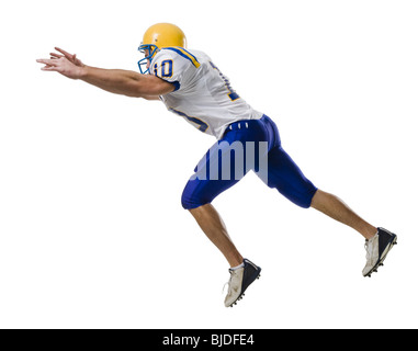 Young male American football player. - Stock Photo
