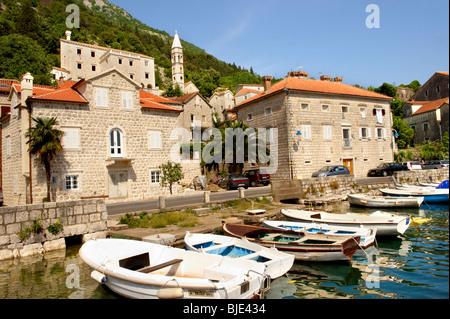 Perast, Kotor Bay Montenegro - Stock Photo
