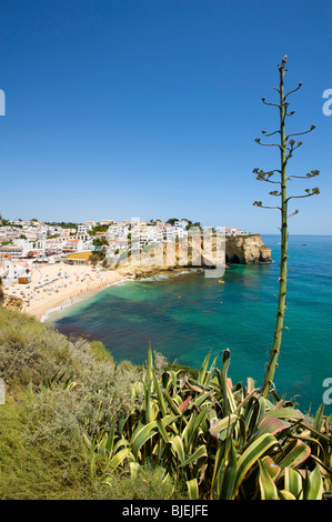 Beach, Carvoeiro, Algarve, Portugal - Stock Photo