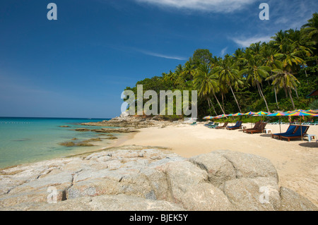 Surin Beach, Phuket, Thailand - Stock Photo