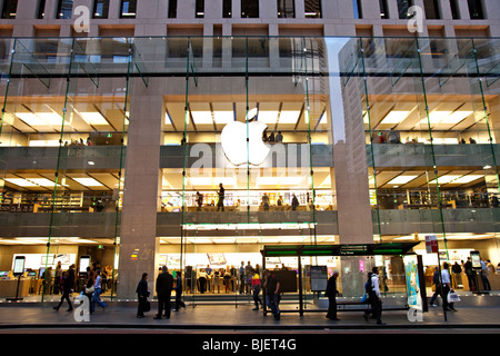 Apple store , Sydney CBD, Australia - Stock Photo