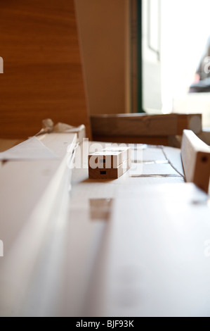 Flat pack furniture diy stock photo royalty free image 28609520 alamy - Diy tips assembling flat pack furniture ...