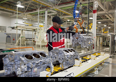 Chrysler Employee Dashboard >> Chrysler's Trenton South Engine Plant Stock Photo, Royalty Free Image: 28619393 - Alamy