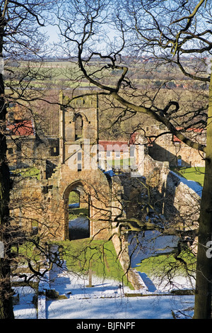 Mount Grace Priory, North Yorkshire, England - Stock Photo