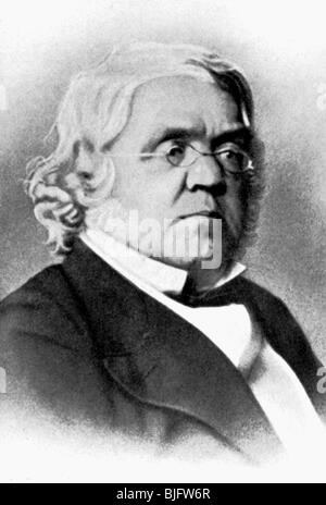 Thackeray, William Makepeace, 18.7.1811 - 24.12.1863, British author / writer, portrait, lithograph, 19th century, - Stock Photo