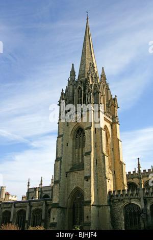 St Mary's Church, Oxford, Oxfordshire, England, UK - Stock Photo